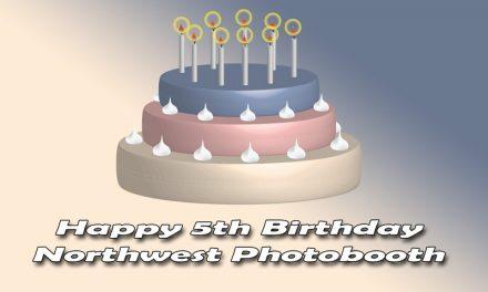 5th Birthday Photobooth Offer